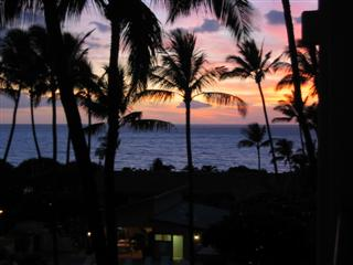 Another Beautiful Sunset from Our Lanai